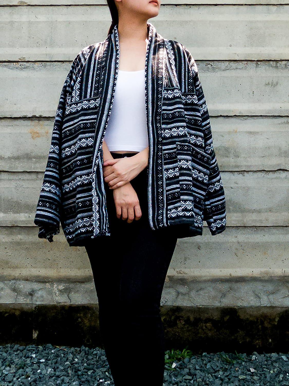Black Short Kimono Jacket NEW Bohemian Cardigan sold out Style Vintage