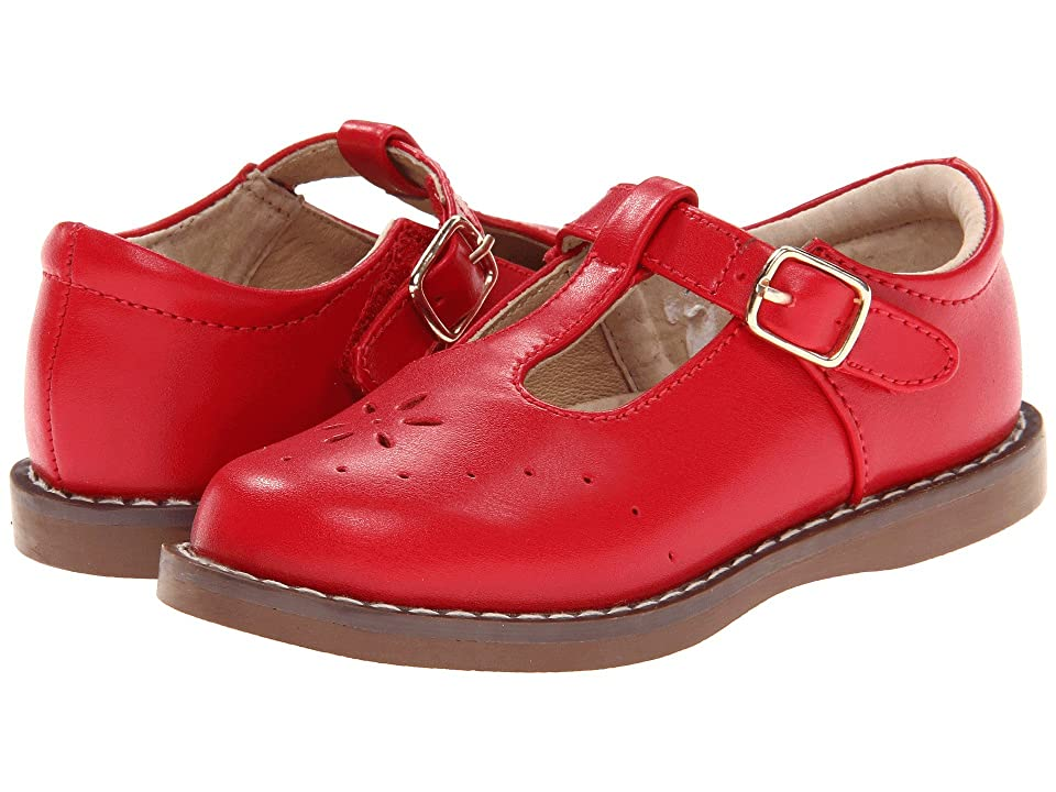 FootMates Sherry 2 (Toddler/Little Kid) (Apple Red) Girls Shoes