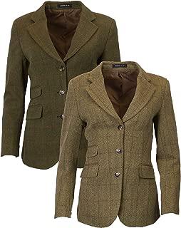 Walker & Hawkes - Ladies Classic Mayland Tweed Country Blazer Jacket