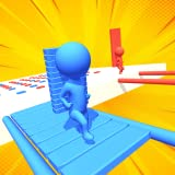 Simple one-finger swipe controls. Colorful vivid graphics. Cool 3d objects and players.