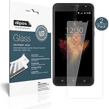 dipos I 2X Protector de Pantalla Compatible con Wieppo S6 Vidrio ...