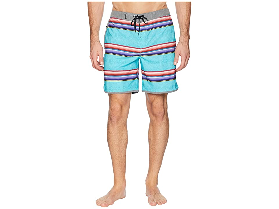 Hurley Phantom Serape 18 Stretch Boardshorts (Aurora Green) Men