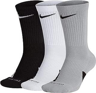 Elite Basketball Crew Socks 3 Pack