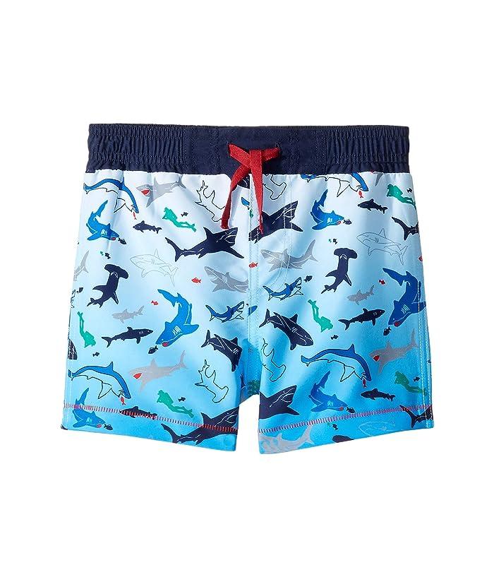 da3c3d1a29 Mud Pie Shark Swim Trunks (Infant/Toddler) at Zappos.com