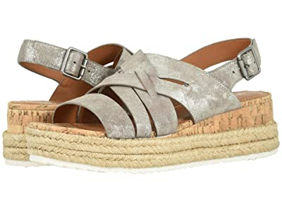 Trask Randi (Pewter Metallic Suede) Women