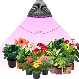 ZOTRON LED Grow Light 24W, Newest 3rd Generation Growing LED Light Bulbs for Hydroponic, Aquaponic, Greenhouse, Indoor Plants, Herbs and Bonsai Trees