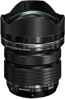 Olympus M.Zuiko Digital ED 7-14mm f/2.8 PRO Lens for Micro Four Thirds Cameras (Renewed)