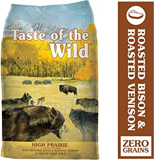 Taste of the Wild High Protein Real Meat Recipe Dry Dog Food with Real Roasted Bison & Roasted Venison