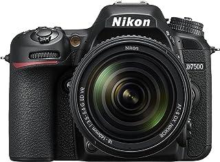 Nikon D7500 with AF-S 18-140mm f/3.5-5.6G ED VR Lens -SLR Camera, Black