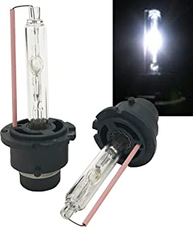 Mega Racer D2S D2C D2R Xenon HID 6000K White Light Low Beam Headlight Car Lamp Bulb Bright Replacement 66040 85122 USA