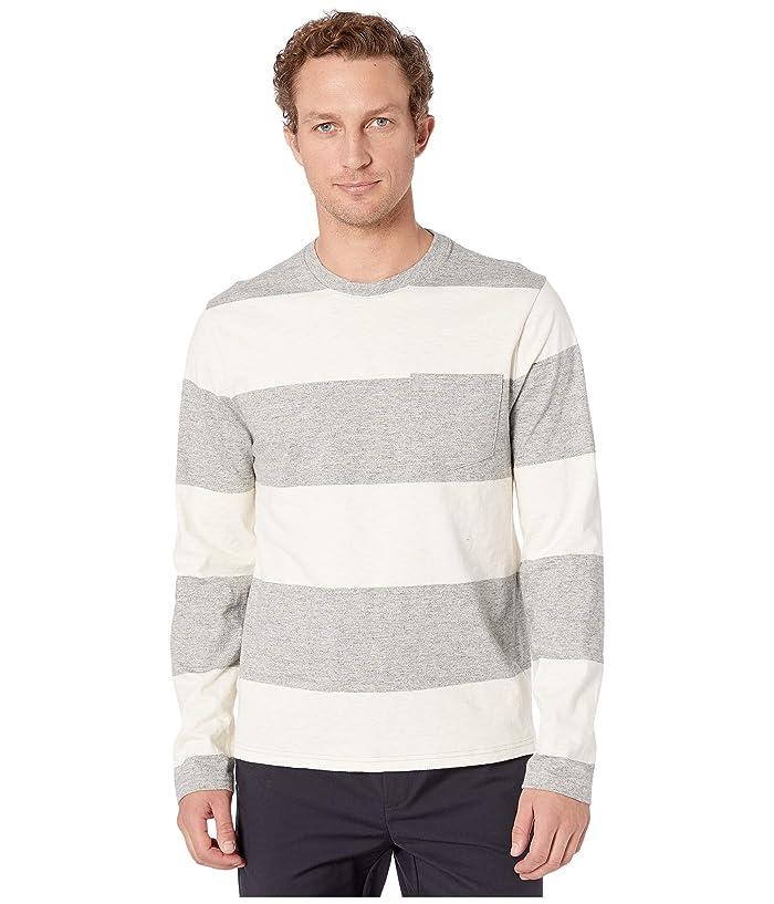 Lucky Brand  Stripe Long Sleeve Tee (Multi) Mens Clothing