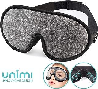 unimi Upgraded 3D profilé Masque Yeux Pour Dormir, Sommeil Masque pour les femmes /& hommes
