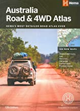 Australia Road & 4WD Atlas (perfect bound): HEMAs most detailed road atlas ever with 188 new maps
