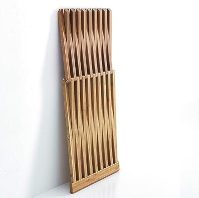 PLAYBOY 149402BB Tavolo Mobile Nero Opaco Verniciato su Ruote 28,2 x 88,5 x 27 cm Bamb/ù