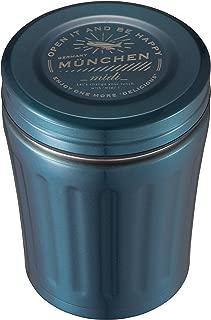 シービージャパン スープジャー ブルー 350ml 高耐久 フッ素加工 フードジャー midi