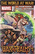 Marvel [Free] Previews, no. 19 (April 2019) (covers: War of the Realms #2, with Wolverine, Punisher, Doctor Strange/Symbiote Spider-Man #2: Dressed for Success): Asgardians of the Galaxy, Avengers etc
