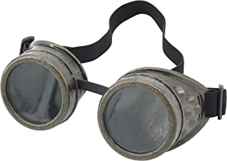 Steampunk Goggles Rustic Copper Vintage Goggle Cyber Welding Goth Cosplay Glasses