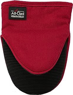 All-Clad Textiles Professional Silicone Grabber Mitt, Chili Red