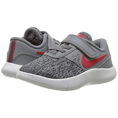 Nike Kids Flex Contact (Infant/Toddler) (Cool Grey/University Red/Anthracite) Boys Shoes