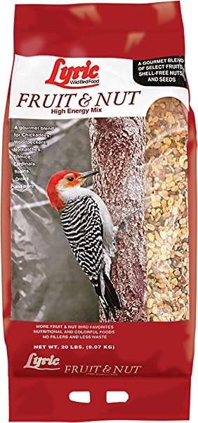 Lyric Fruit Nut High Energy Wild Bird Food 20 Lb