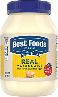 Best Foods Mayonnaise Real Mayo Kosher Condiment Gluten Free 30 oz