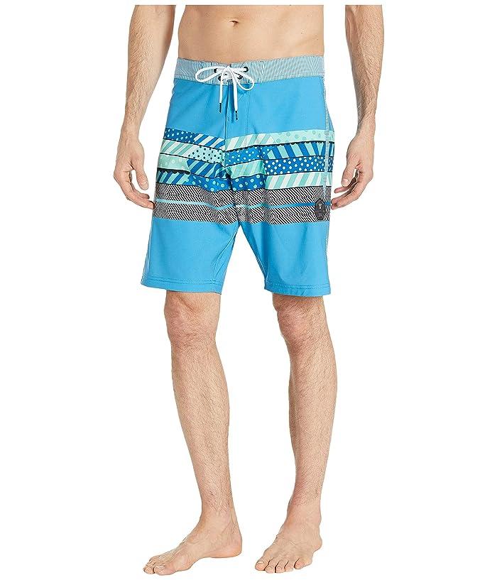 VISSLA 20 Woodside Boardshorts (Maui Blue) Men