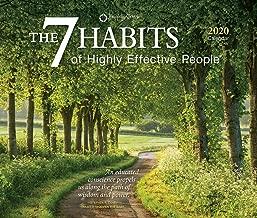 The 7 Habits of Highly Effective People 2020 Desktop Box Calendar, Self Help Improvement