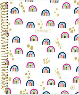 "Daisy by bloom daily planners 2020-2021 Academic Year Student Day Planner (July 2020 - July 2021) - Elementary Through Middle School Calendar Agenda Book - 7"" x 9"" - Rainbows"
