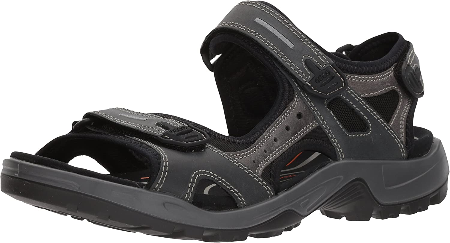 ECCO shoes Men's Offroad Yucatan Sandal, Marine, 47 M EU (12.5-13 US)
