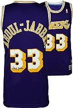 Kareem Abdul-Jabbar Los Angeles Lakers Autographed Purple Adidas Swingman Jersey - Fanatics Authentic Certified