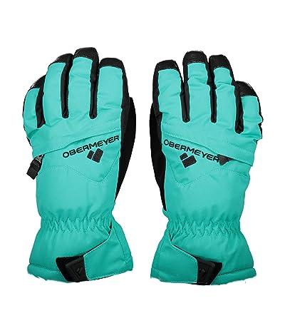 Obermeyer Kids Lava Gloves (Little Kids/Big Kids) (Off Tropic) Extreme Cold Weather Gloves