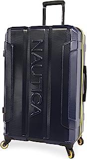 حقيبة سبينر متينة من نوتيكا ماكر، 73.66 سم، كحلي / أصفر