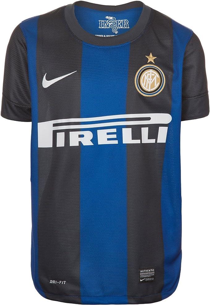 Nike, Maglietta a Maniche Corte Bambino Inter Milan Boys Home