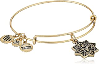 Alex and ANI Healing Love II Bangle Bracelet, Expandable