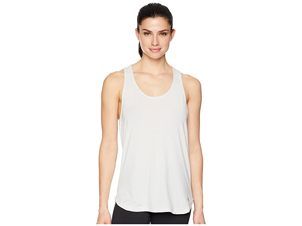 ASICS Flex Tank Top (Brilliant White Heather) Women
