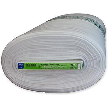 "Pellon 987F Fusible Fleece White - 45"" x 10 Yards"