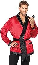 Leg Avenue Men's 2 Piece Bachelor Cigarette Smoke Jacket And Pipe Costume