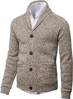 Mens Casual Cardigan Sweatshirts Premium Thermal Warm Long Sleeve Knitted Jackets