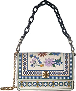 Kira Floral Shoulder Bag