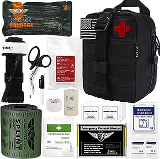 "Everlit Emergency Survival Trauma Kit with Tourniquet 36"" Splint, Military Combat.."