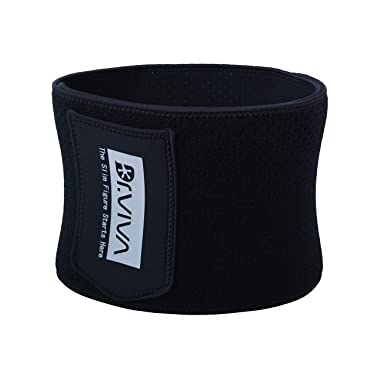 DR.VIVA Waist Trainer Belt, High Trimmer Sweat Wrap Exercise for Stomach Weight Loss Women Men Slimming Corset High Compression Fitness Workout Sweat Sauna Belt Abdominal Trainers with Pocket
