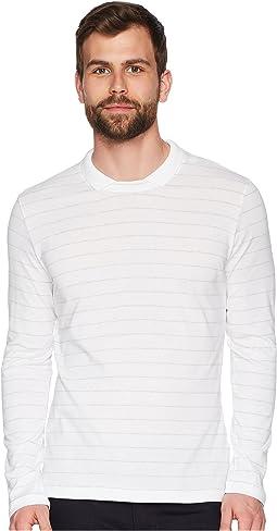 eleventy - Long Sleeve Johnny Collar Polo