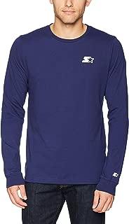 Starter Men's Long Sleeve Back-Logo T-Shirt, Amazon Exclusive