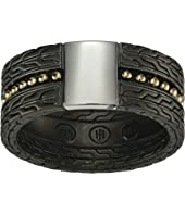 John Hardy - Chain Jawan 10mm Blackened Band Ring