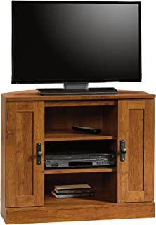 Sauder Harvest Mill Corner Entertainment Stand, For TV's up to 37