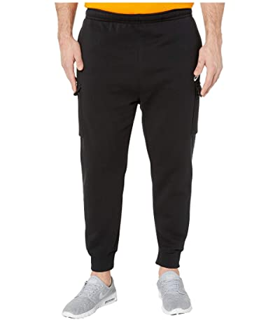 Nike Big Tall NSW Club Pants Cargo (Black/Black/White) Men