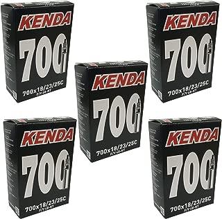 KENDA 700 x 18-25c Inner Tubes - 48mm Long Presta Valve (Pack of 5)
