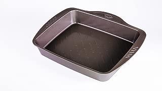 Pyrex Rectangular Dish Steel 8010733 Asimetria Chocolate 40.31 x 31.24 5.96 x cm