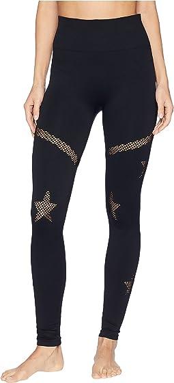 Star Mesh Leggings
