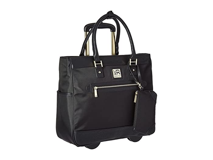 Kenneth Cole Reaction  Call It Off - Nylon Wheeled Tote (Black) Pullman Luggage